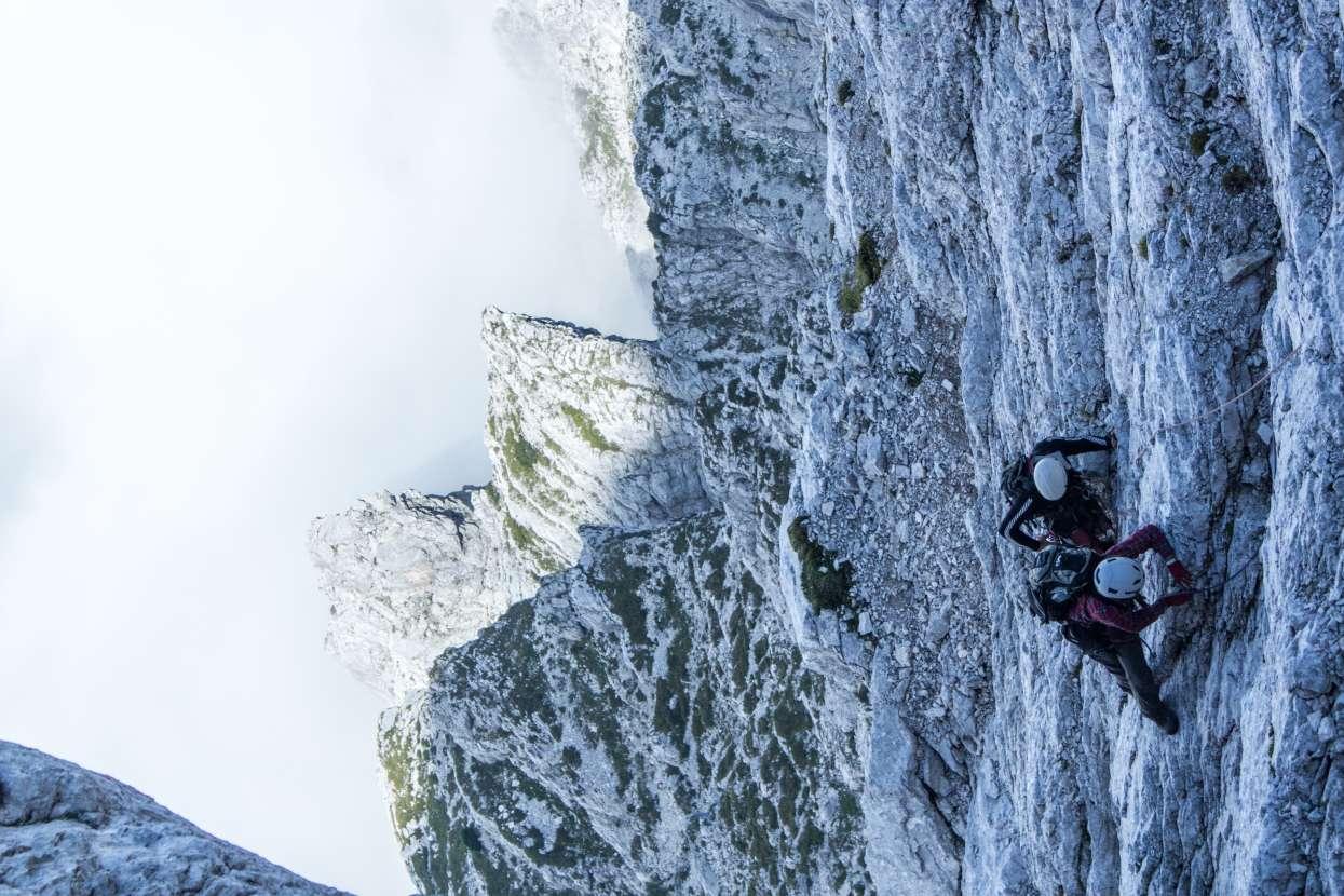 Climbing Slovenska route