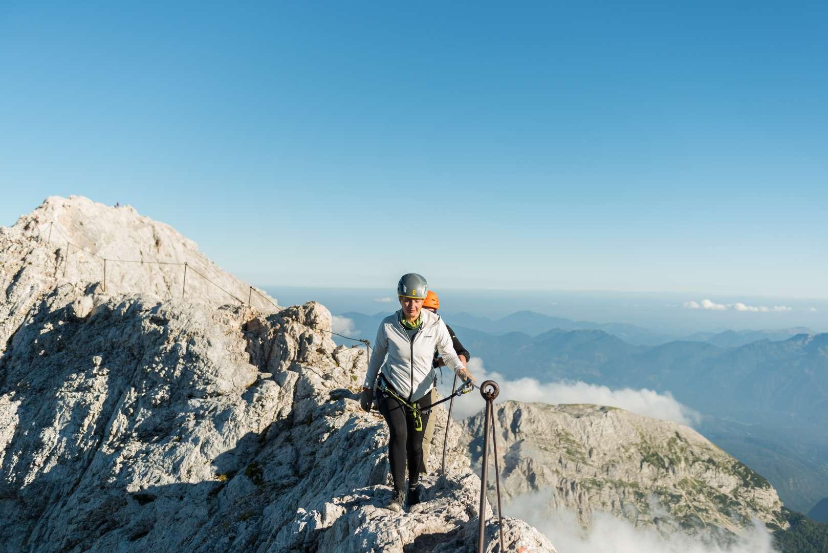 Final push to Mt. Triglav
