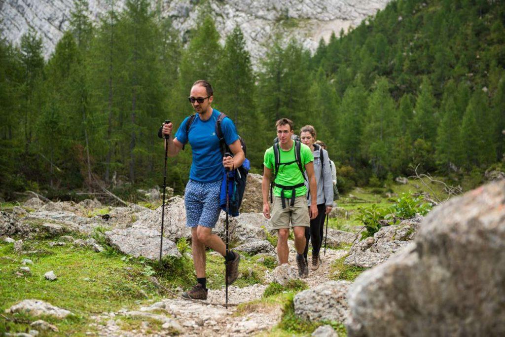 Hiking in Juliand Alps