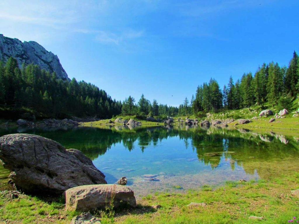 One of seven Triglav lakes