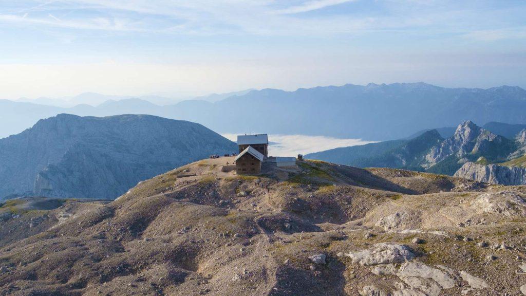 Planika lodge view