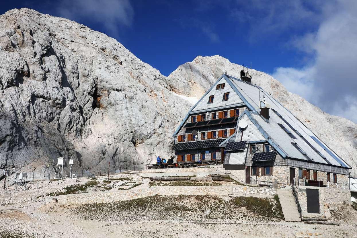 The Kredarica hut