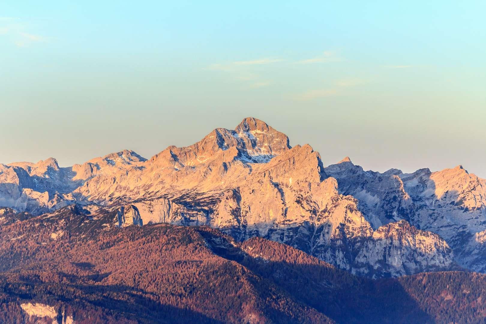 The heart of Julian Alps