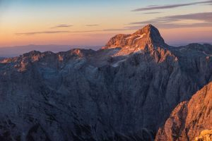 The north face of Triglav