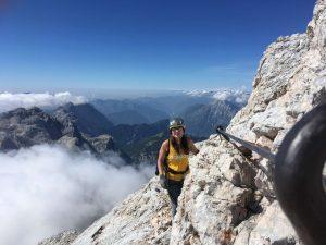 Towards the top of Triglav via Plemenice