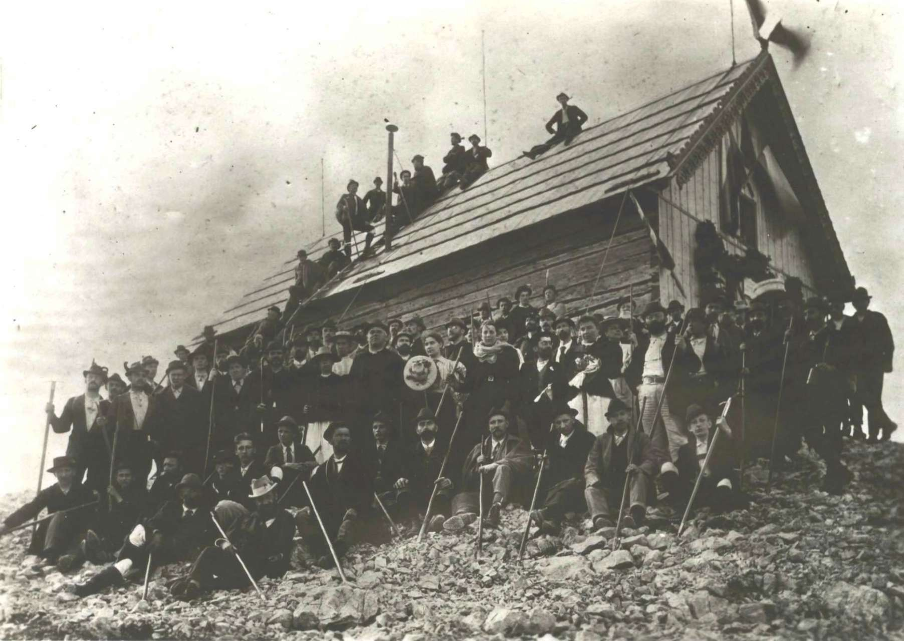 Triglav hut opening, photo by Benedikt Lergetporer